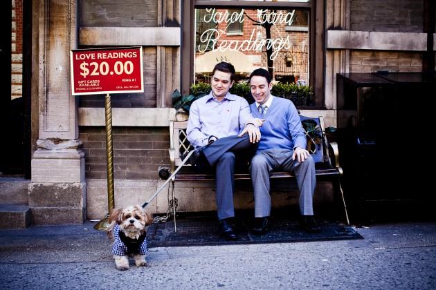 New York City | Engagement | Andrew + Jeremy