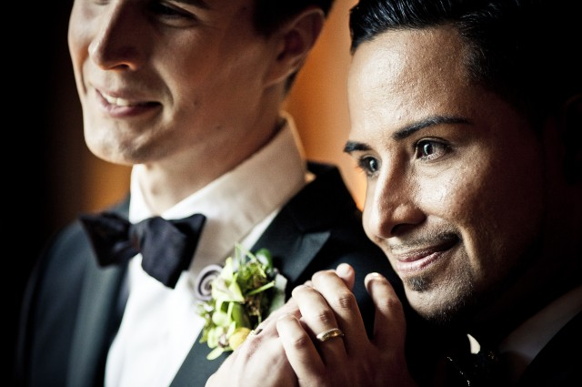 Featured | Xavier + Andrew on Style Me Pretty