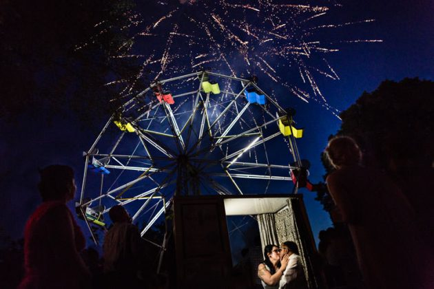 Ferris Wheel Wedding | Hartford | Jamie + Juan