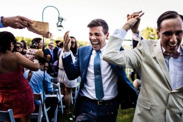 Vineyard Wedding   Tim + Nick   Colchester, CT