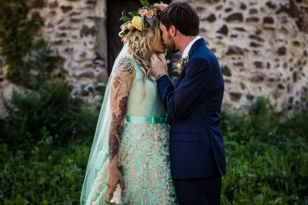 Elizabeth Park | Garden Wedding | Emily + Casey