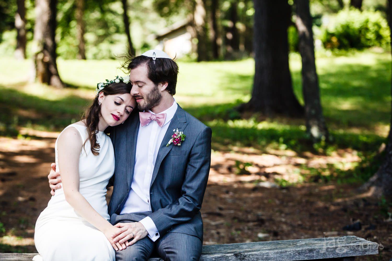 Jewish Retreat Center Wedding, Falls Village, CT
